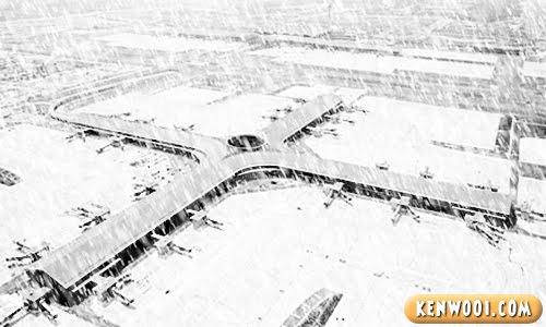 klia airport snow