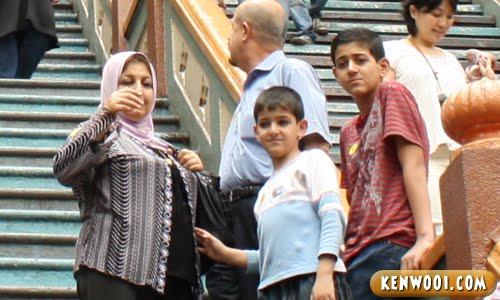 middle eastern visitors