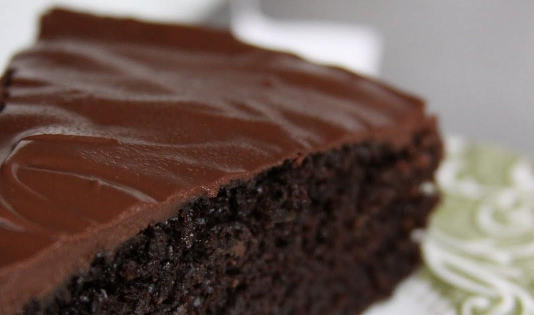 ... Fish: Vegan Chocolate Birthday Cake with Chocolate Ganache Icing