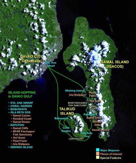 Philippines tourist destination: Isla Reta Talicud Island