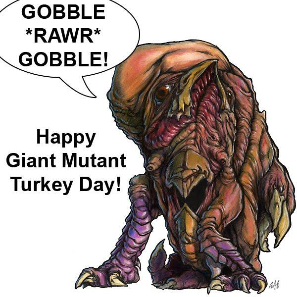 mutant turkey Gallery