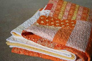 crazy mom quilts: candy corn quilt : candy corn quilt - Adamdwight.com