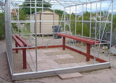 Building our Harbor Freight 10 x 12 Greenhouse Part Seven