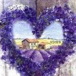 Lavendelherz-Petra