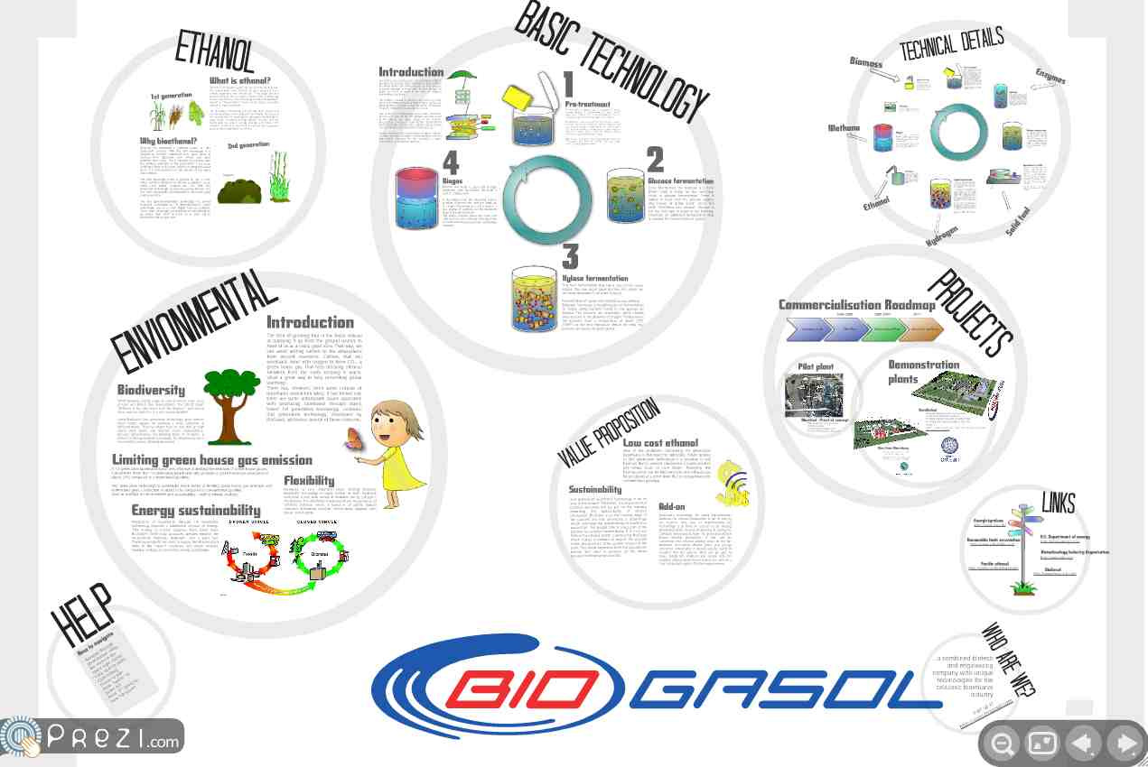 Presentation cool site design