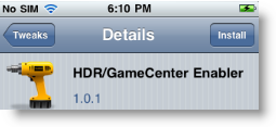 Enable Game Center On iPhone 3G iOS 4.1