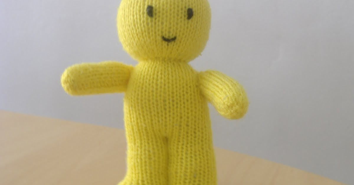 A little bit of everything: Knitted Jelly Baby