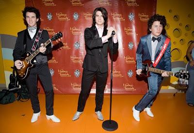 Fotos de los Jonas Brothers en Figura de Cera