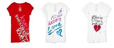 Fotos camisetas para San Valentin 2011