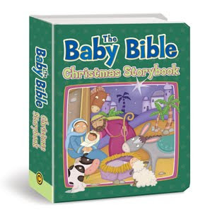 Living to tell the story book tour baby bible christmas storybook