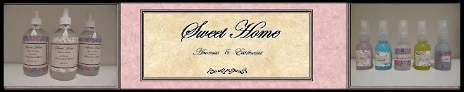 Sweet Home - Aromatizadores de tecidos