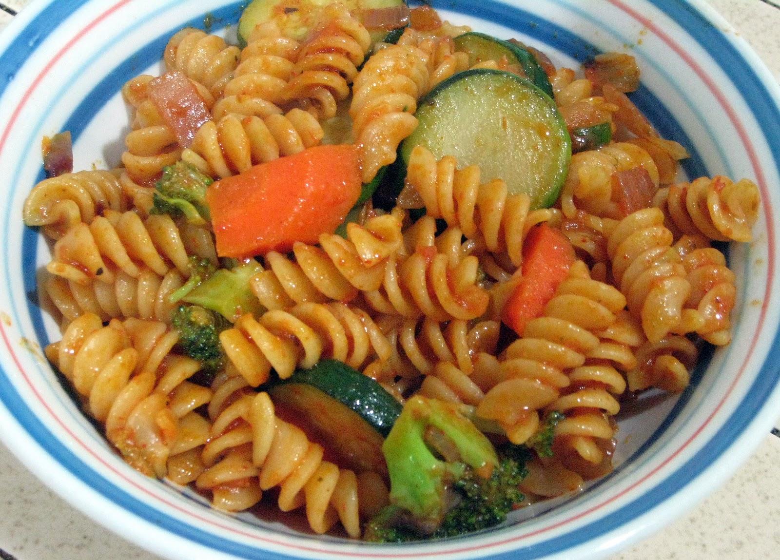 Simple Vegetarian Recipes: Pasta Primavera