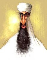 Bin Laden caricature