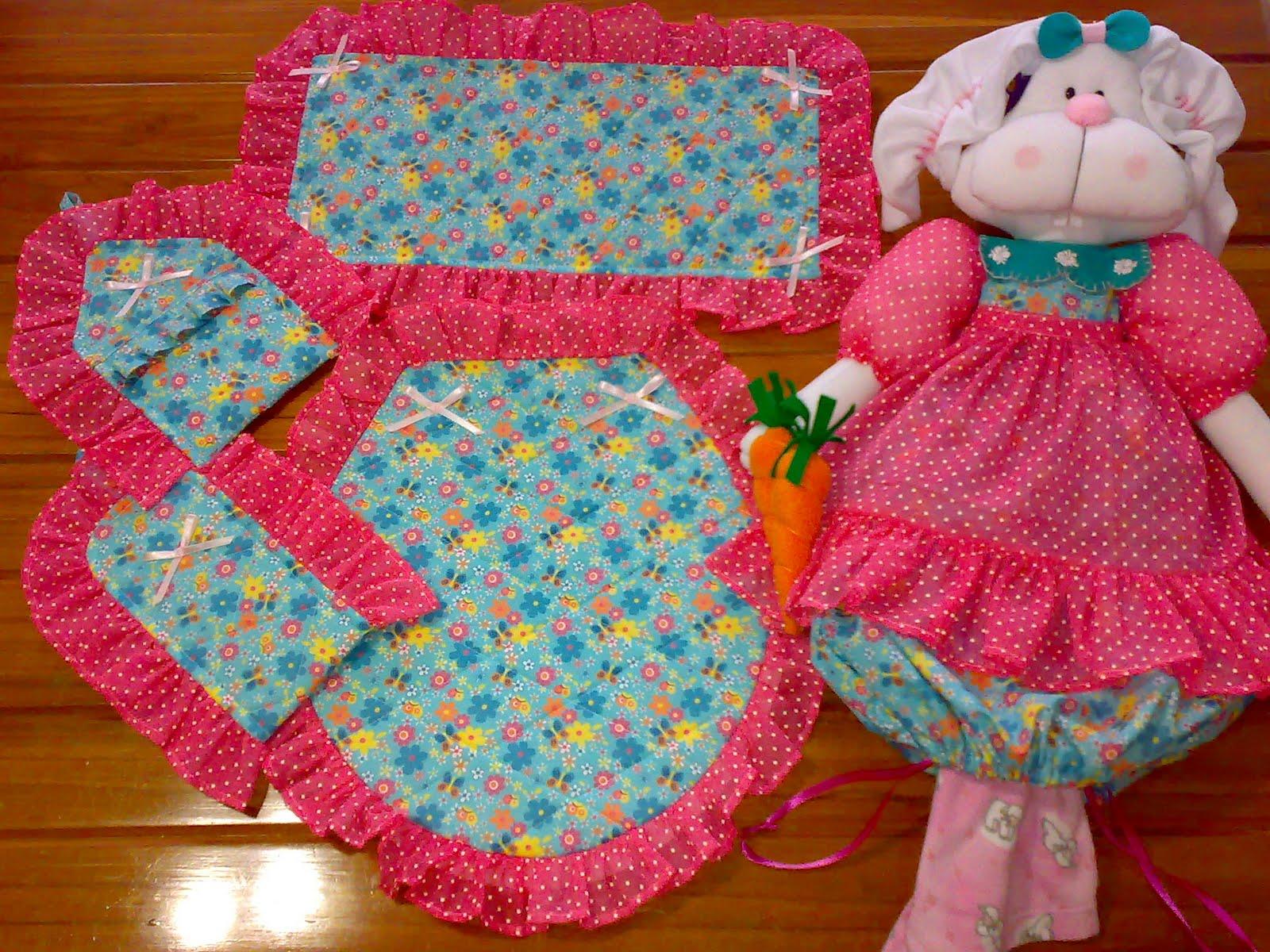 Set De Baño En Crochet:De Bano Para Ninas