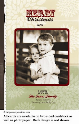 Country Classic Photo Holiday Card, Christmas Photocard