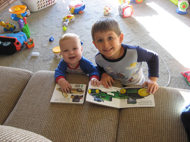 My Boys Reading
