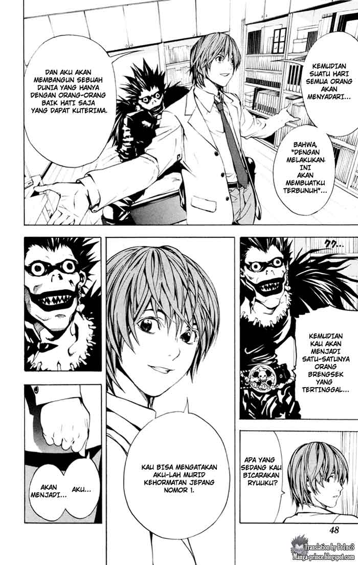 Baca Manga, Baca Komik, Death Note Chapter 1, Death Note 1 Bahasa Indonesia, Death Note 1 Online, Death Note 1 Indo