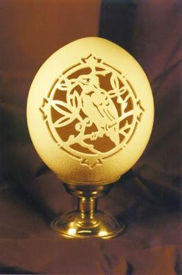 Amazing art of eggshell