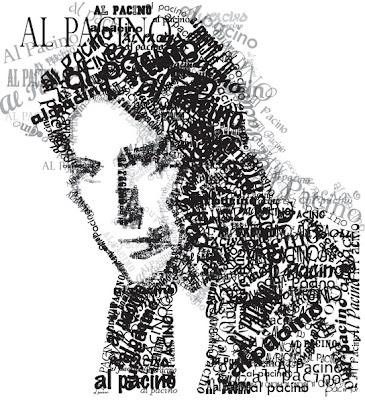 Beautiful Typographic Portraits