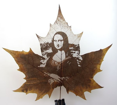 Leaf Carving Artwork