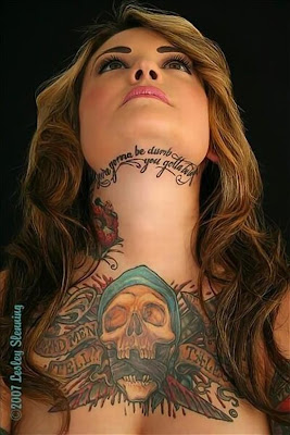Girls with Unique Tattoos