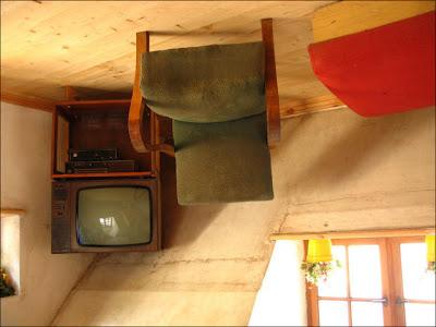 Amazing Upside Down House