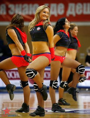 Russian Cheerleaders