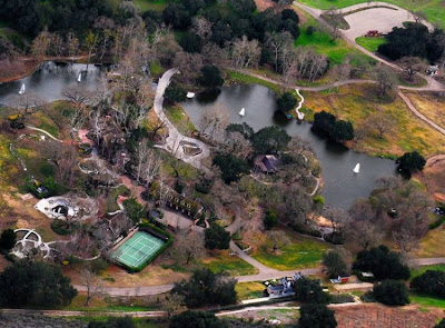 neverland ranch 38 Neverland, kediaman Michael Jackson