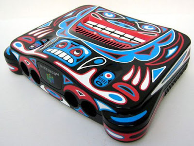 Beautifully Painted Game Consoles Seen On  www.coolpicturegallery.net