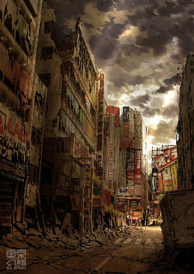 Post-Apocalyptic Pictures of Tokyo