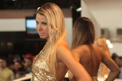 Sexy Models at a Brazilian Car Show