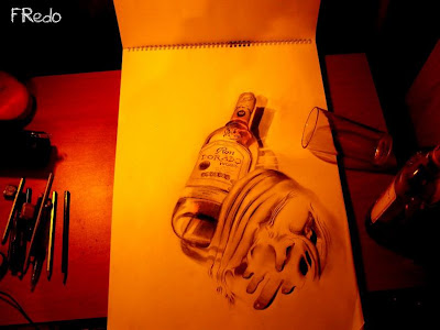 Unbelievable 3D Drawings by 17-year-old Fredo