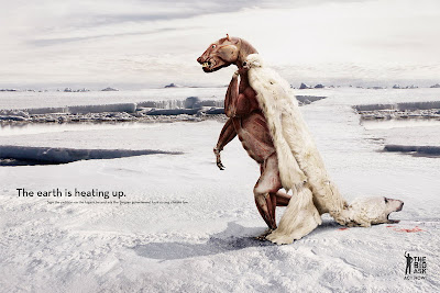 Creative Advertisement Using Animal Seen On  www.coolpicturegallery.us