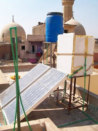 How to build your own Solar CITIES solar heater