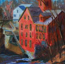 The 1834 Montague Mill, Montague Center, MA