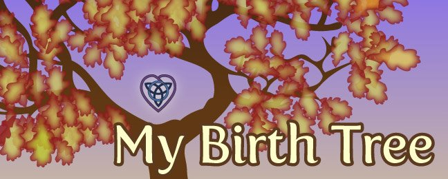 my birth tree