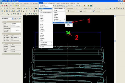 AUTOCAD : MODIFIKASI TEXT