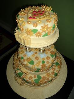 ~FONDANT WEDDING CAKE~
