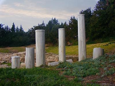 колонны, Византийская церковь