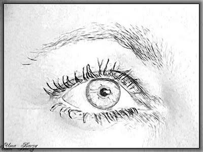 глаз, рисунок