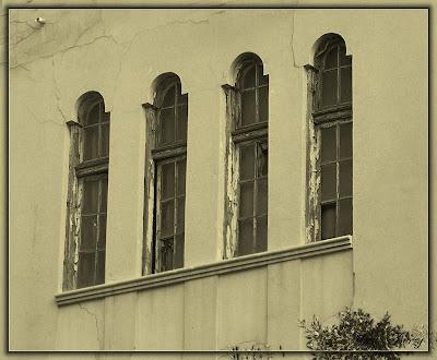 старинные окна