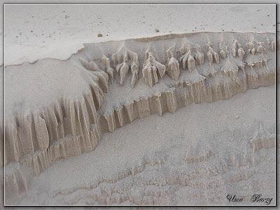 узоры на морском песке