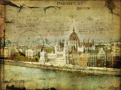 старинная фотография, старая открытка, Будапешт