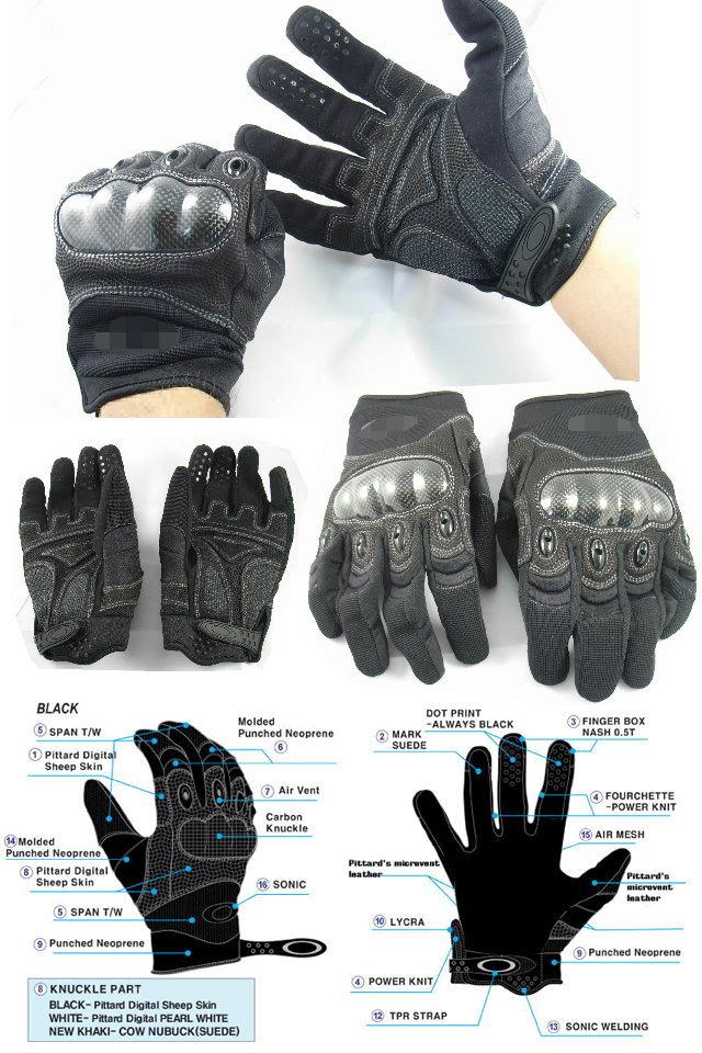 Средства за физичка заштита - (панцири,тактички елеци,шлемови...) Oakley_gloves_b