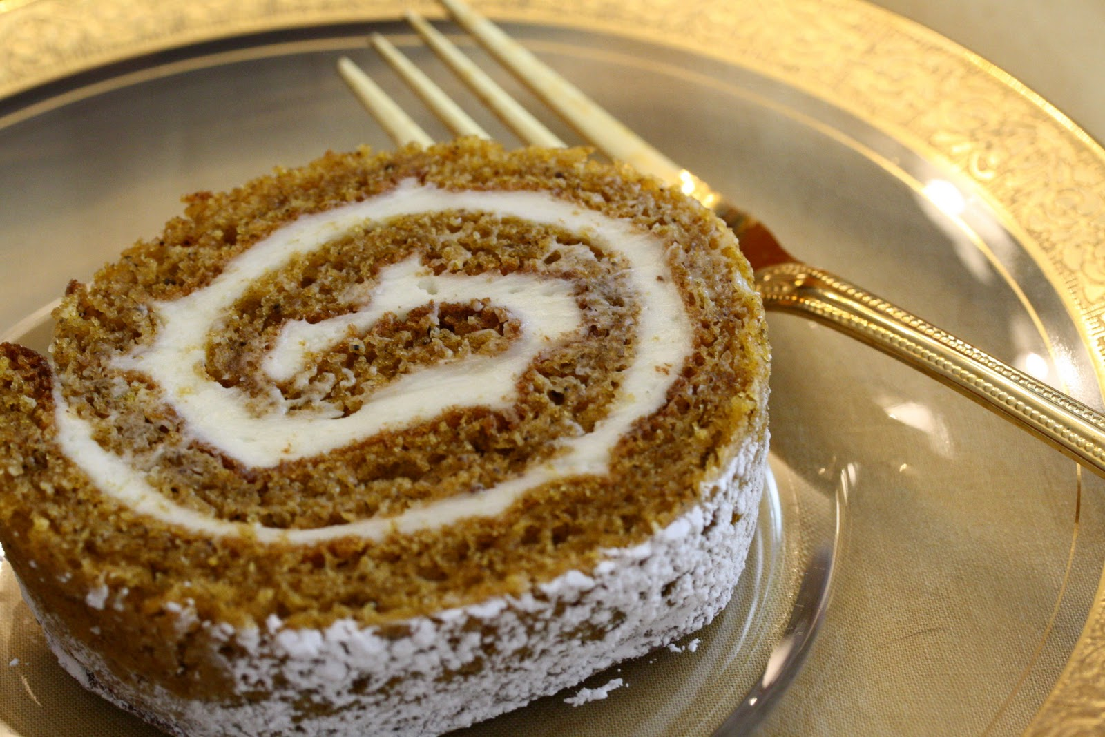 Pumpkin Roll with Cream Cheese Filling - Redux - Saving Room for ...