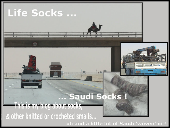 LIFE SOCKS ... SAUDI SOCKS !