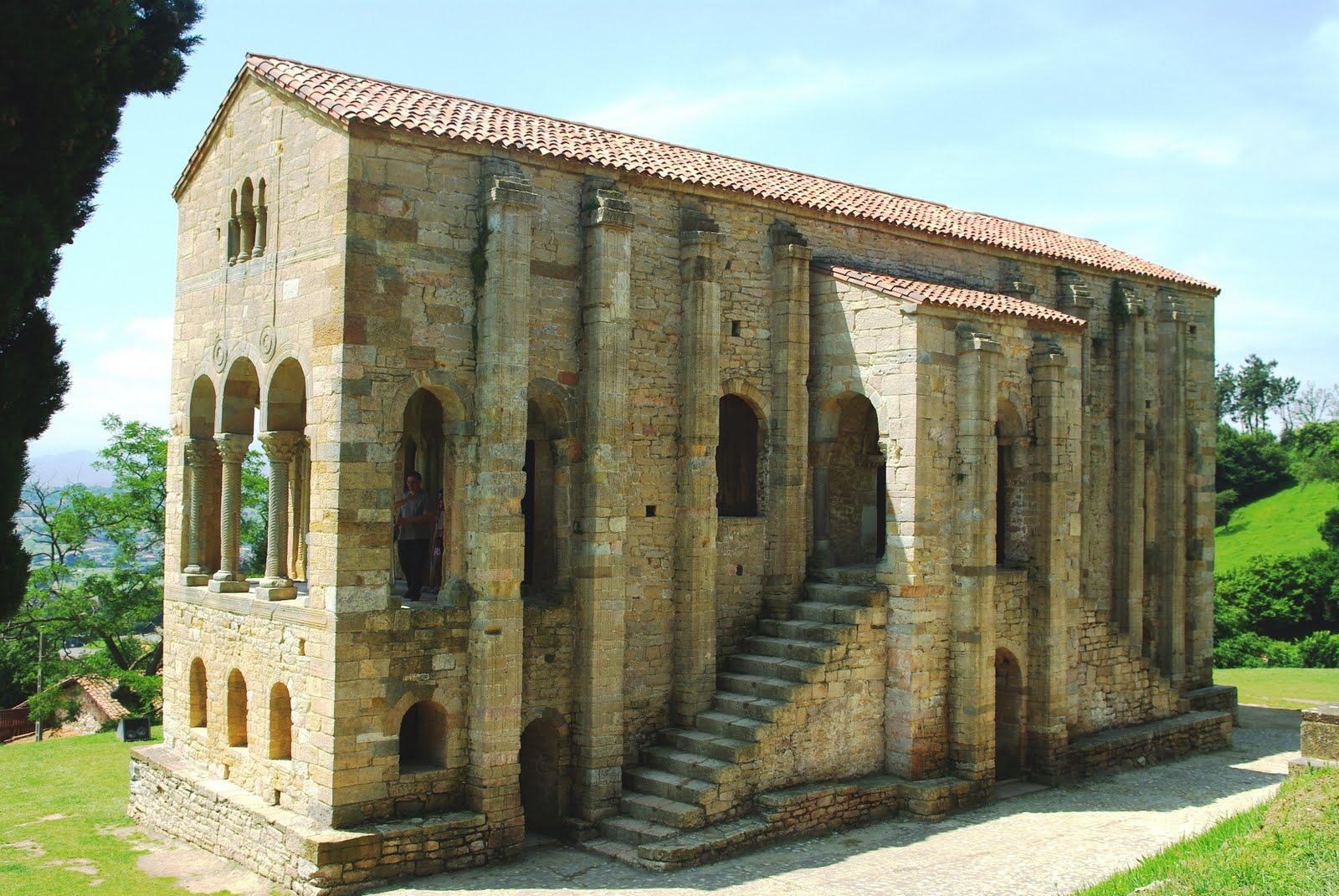 ASTURIAS para disfrutar: Santa María del Naranco