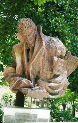 Oviedo, busto de Manuel Fernández Avello