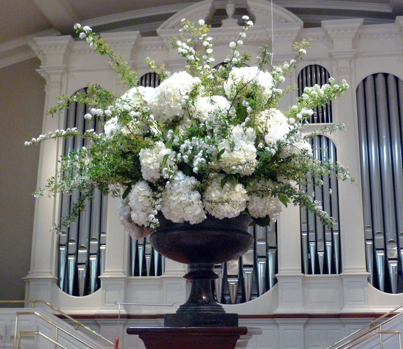 Church Altar Wedding Flower Arrangements: Ceremony Flower, Altar Arrangement, Wedding Altars, Altar