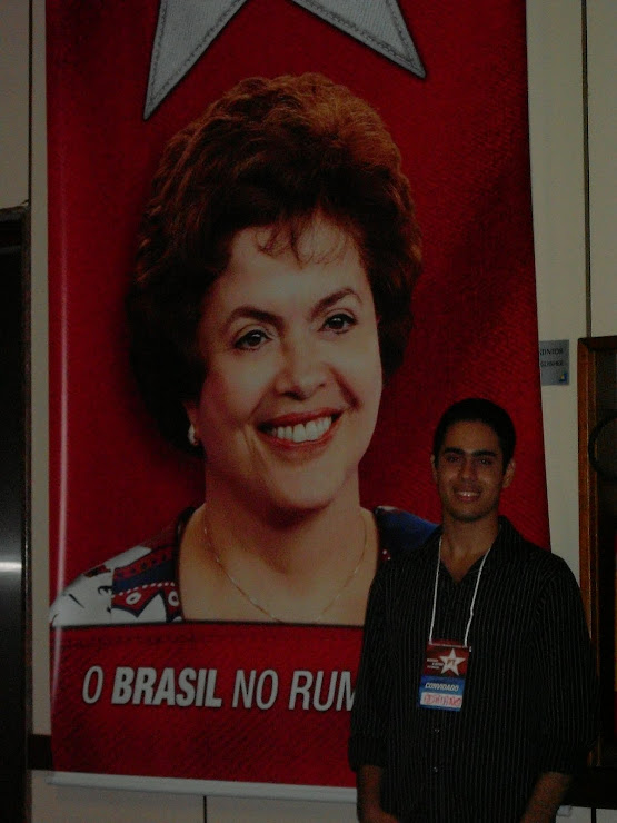 ADRIANO NO CONGRESSO DO PT